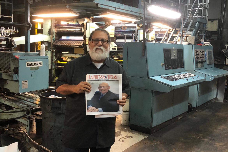 English and Spanish newspaper